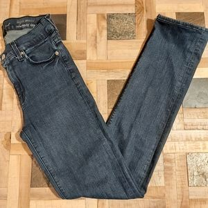 7 For All Mankind - High Waist Straight Leg Jeans